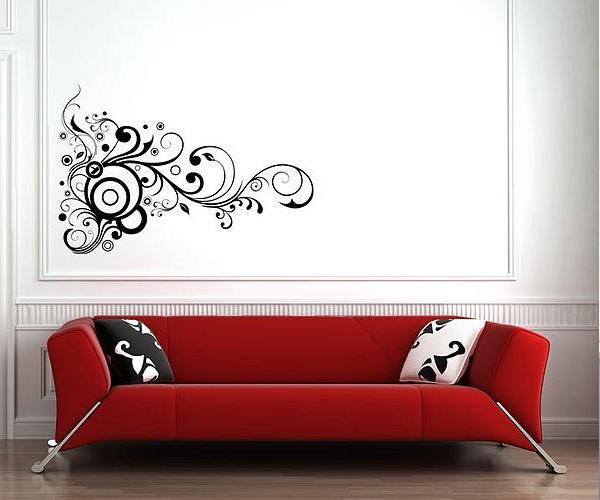 decorettostickersinlivingroom12 b49e2 Ngôi nhà của bạn sẽ trở nên bắt mắt hơn với sticker dán tường