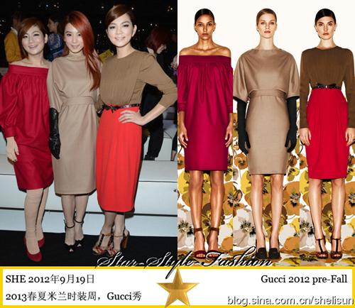 Sao châu Á khoe sắc tại Tuần lễ thời trang Xuân/Hè 2013