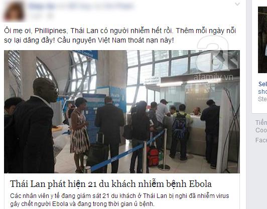 Nguy cơ dịch Ebola tràn vào Việt Nam, cộng đồng truyền tay bí kíp phòng ngừa hữu ích 3