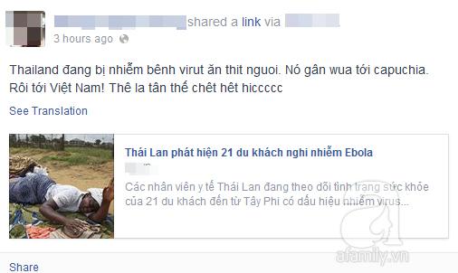 Nguy cơ dịch Ebola tràn vào Việt Nam, cộng đồng truyền tay bí kíp phòng ngừa hữu ích 2