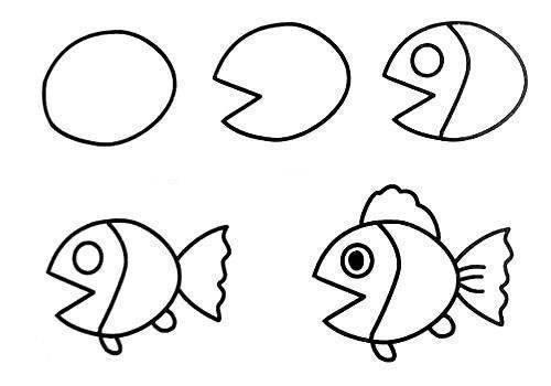 Những bức tranh đơn giản giúp bố mẹ học vẽ cùng con