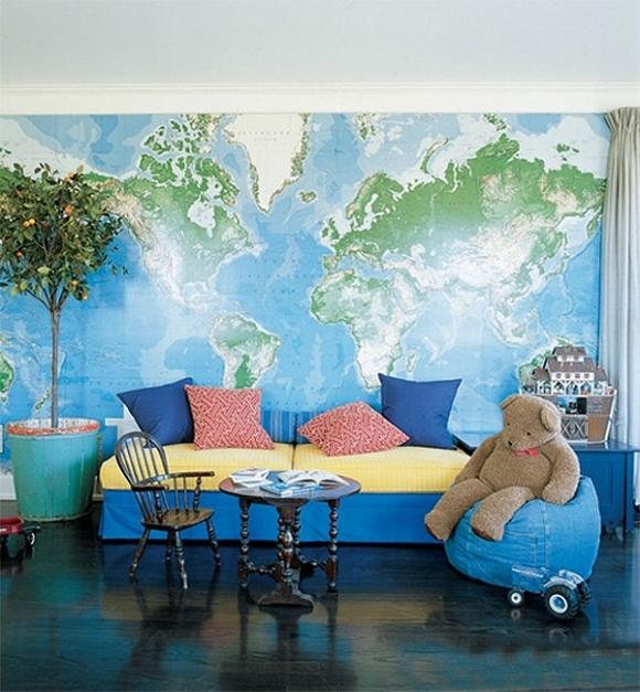 Ý tưởng trang trí nhà đơn giản mà độc đáo cho tín đồ yêu du lịch 1