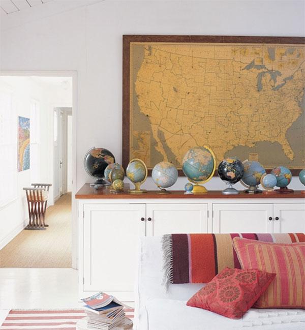 Ý tưởng trang trí nhà đơn giản mà độc đáo cho tín đồ yêu du lịch 3
