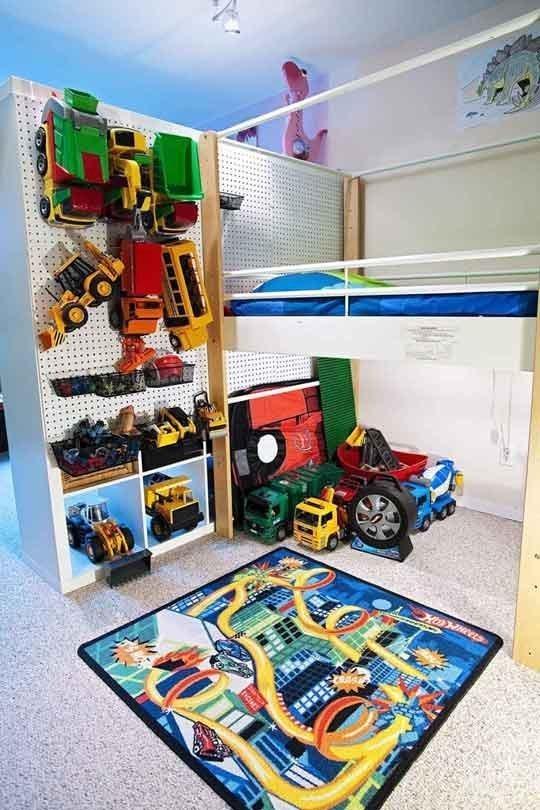 Giải pháp lưu trữ thiết thực cho phòng ngủ của bé 12