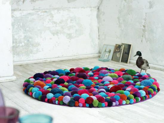Thích thú với bộ sưu tập 25 mẫu thảm trải sàn đẹp và độc đáo 11