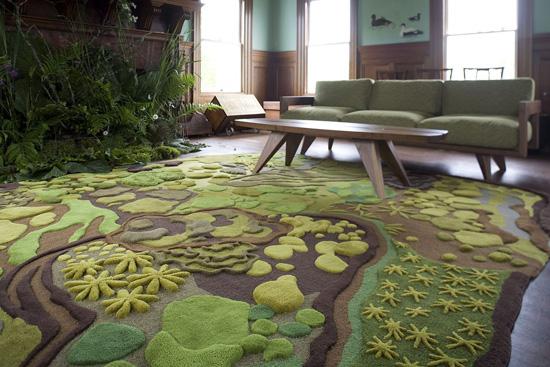 Thích thú với bộ sưu tập 25 mẫu thảm trải sàn đẹp và độc đáo 3