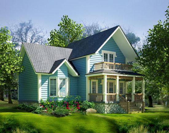 Những ngôi nhà thiết kế theo phong cách đồng quê tuyệt đẹp 8