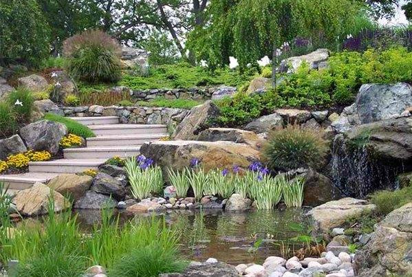 Những thiết kế hồ nước nhỏ xinh cho sân vườn 13