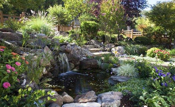 Những thiết kế hồ nước nhỏ xinh cho sân vườn 5
