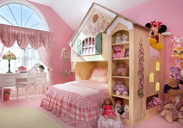 giuong ngu cho be 1 Bé yêu nhà bạn sẽ thích mê những kiểu giường ngủ thế này