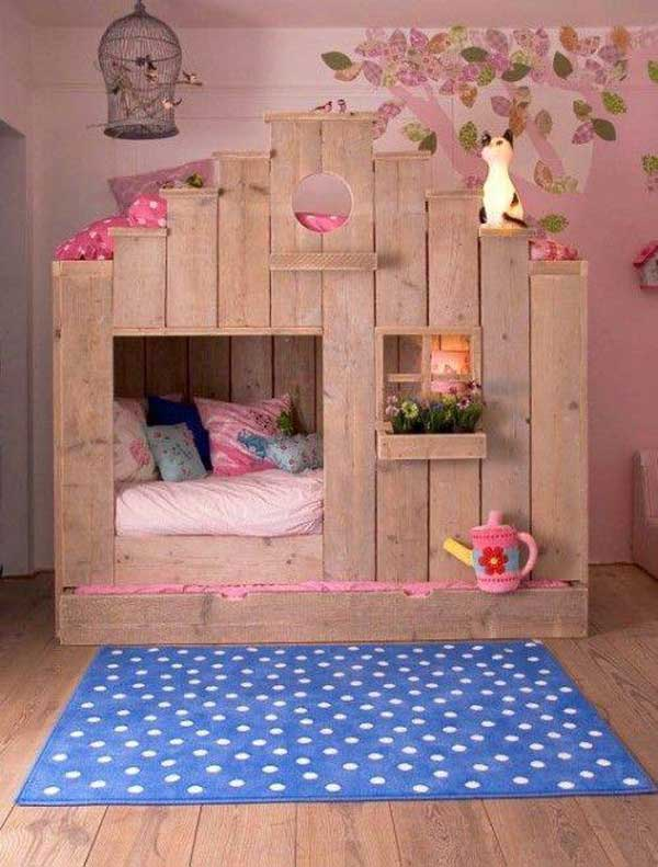 giuong ngu cho be12 Bé yêu nhà bạn sẽ thích mê những kiểu giường ngủ thế này