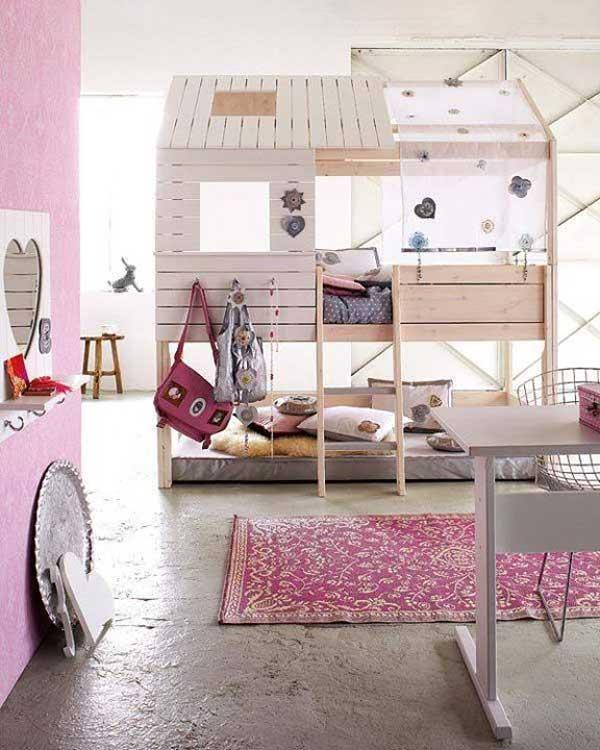 giuong ngu cho be13 Bé yêu nhà bạn sẽ thích mê những kiểu giường ngủ thế này
