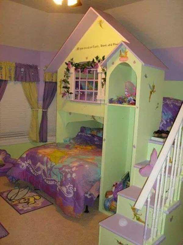 giuong ngu cho be14 Bé yêu nhà bạn sẽ thích mê những kiểu giường ngủ thế này
