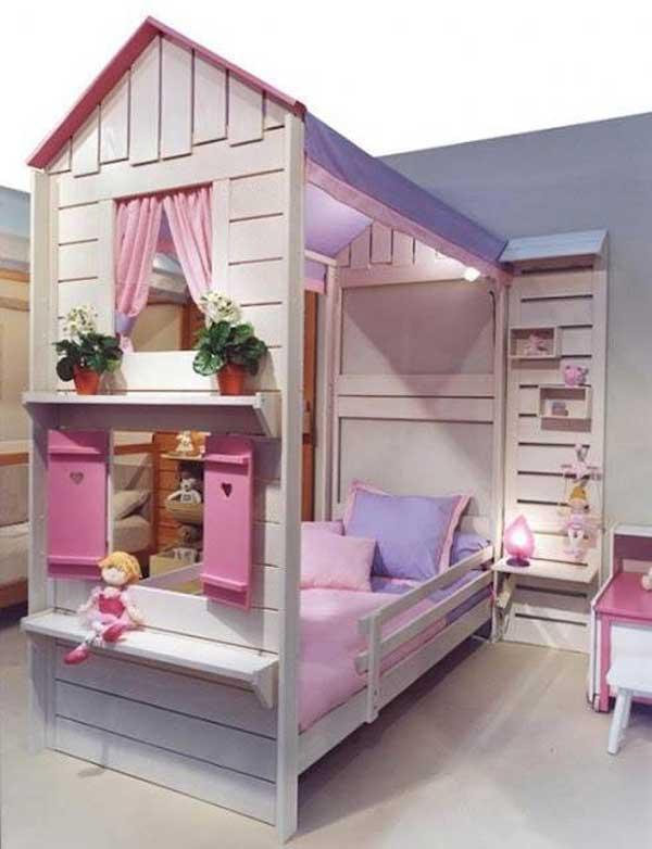giuong ngu cho be15 Bé yêu nhà bạn sẽ thích mê những kiểu giường ngủ thế này
