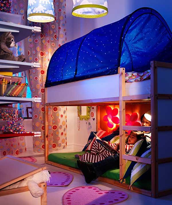 giuong ngu cho be5 Bé yêu nhà bạn sẽ thích mê những kiểu giường ngủ thế này