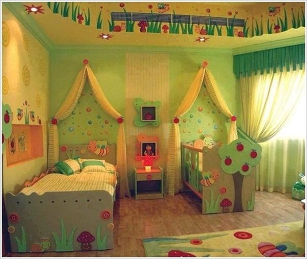 giuong ngu cho be6 Bé yêu nhà bạn sẽ thích mê những kiểu giường ngủ thế này