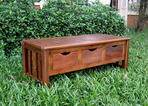 ghế gỗ sân vườn 11