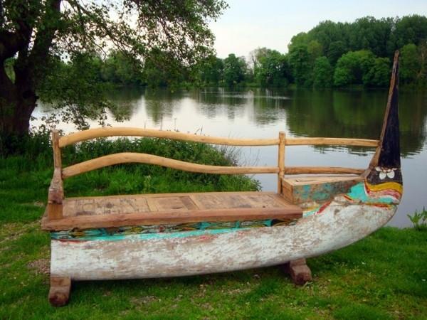 ghế gỗ sân vườn 14