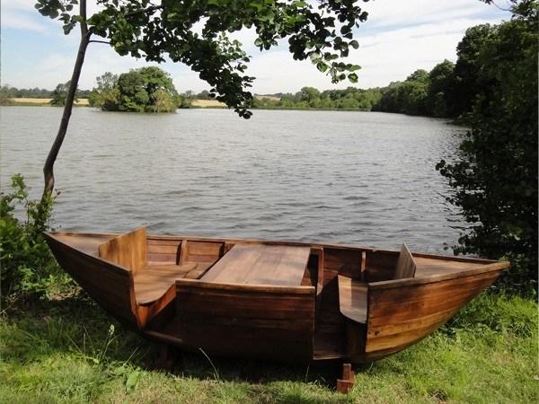 ghế gỗ sân vườn 15