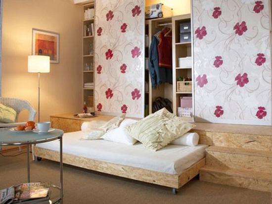 Thích mê những kiểu giường tiết kiệm diện tích