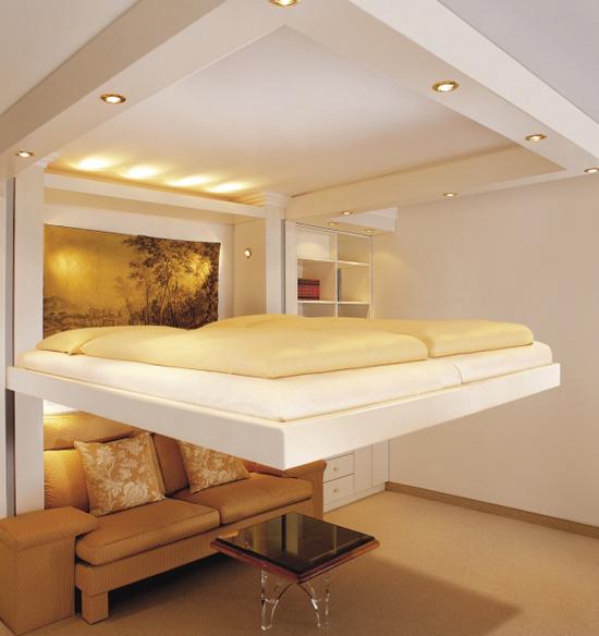 giuong ngu 12 Thích mê những kiểu giường tiết kiệm diện tích