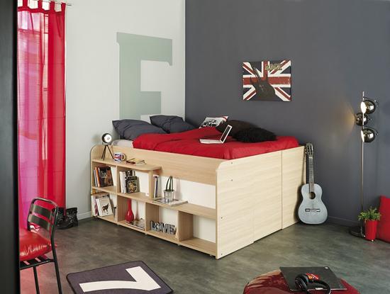 giuong ngu 2 Thích mê những kiểu giường tiết kiệm diện tích