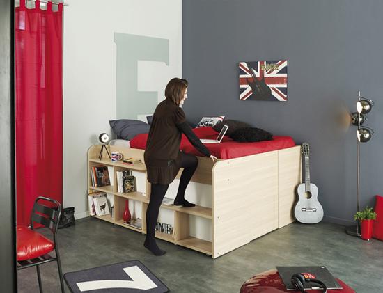 giuong ngu 5 Thích mê những kiểu giường tiết kiệm diện tích