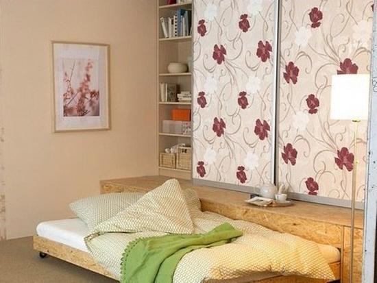 giuong ngu 7 Thích mê những kiểu giường tiết kiệm diện tích