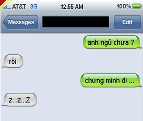 """Cười xả láng với những tin nhắn """"bá đạo"""" 2"""