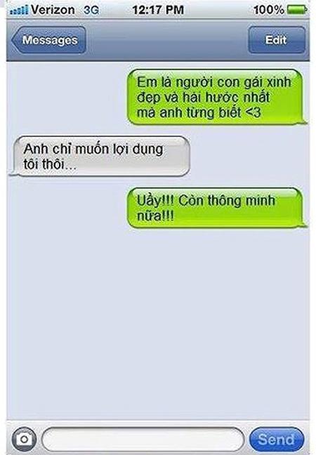 """Cười xả láng với những tin nhắn """"bá đạo"""" 7"""