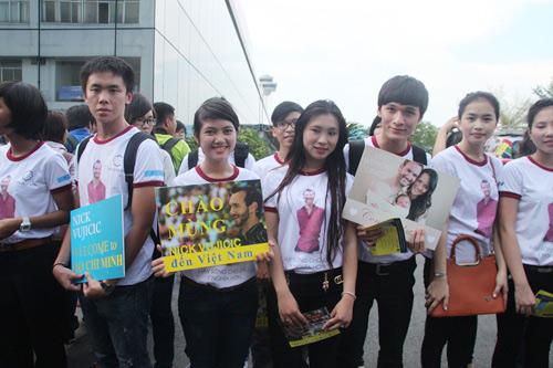 """Những hình ảnh đầu tiên của """"chàng trai kỳ diệu"""" Nick Vujicic tại Việt Nam 3"""