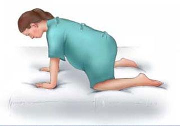 10 tư thế mẹ bầu nên biết để giảm đau khi chuyển dạ 9