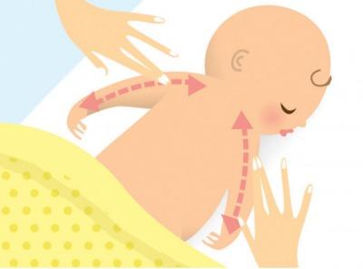 Bác sĩ Hoa Kỳ mách mẹ 6 bước massage tuyệt vời cho bé 7