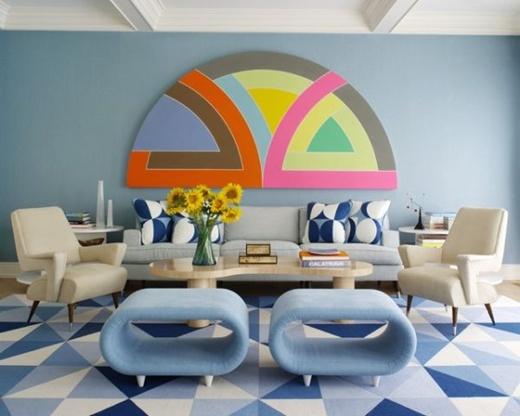 5 cách trang trí phòng khách theo xu hướng retro 3