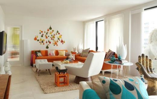 5 cách trang trí phòng khách theo xu hướng retro 7