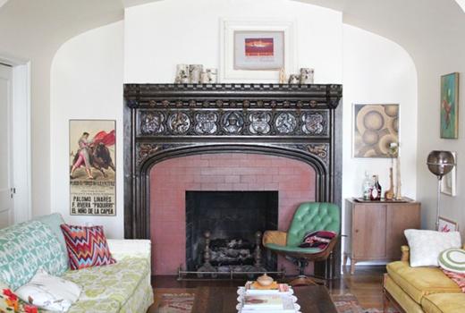 5 cách trang trí phòng khách theo xu hướng retro 5