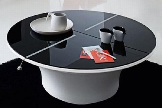 Những kiểu bàn cafe tuyệt đẹp tích hợp không gian lưu trữ 2