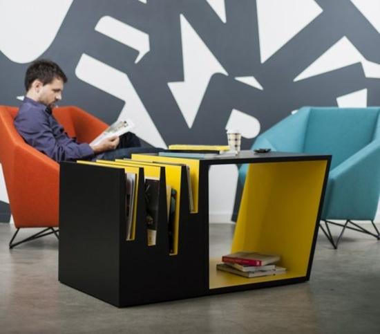 Những kiểu bàn cafe tuyệt đẹp tích hợp không gian lưu trữ 6