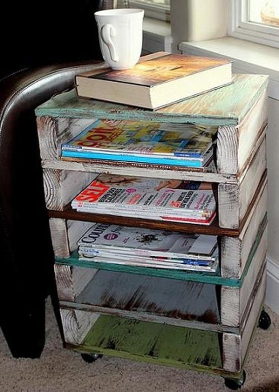 Giữ nhà ngăn nắp bằng những chiếc kệ sách độc đáo và sáng tạo 6