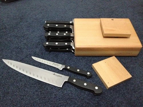 Những cách lưu trữ dao khiến các bà nội trợ mê mẩn 6