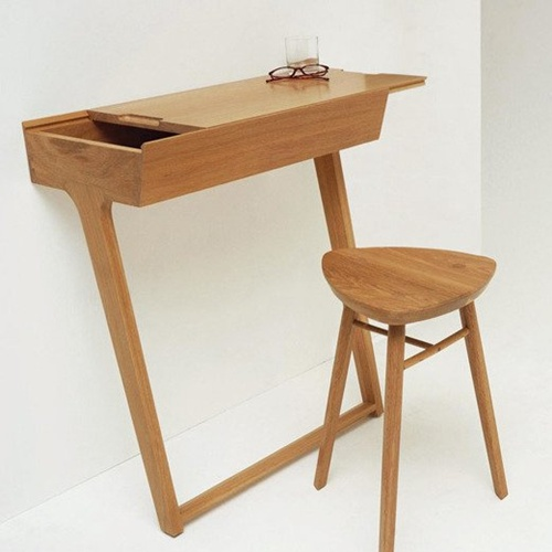 6 mau ban lam viec tiet kiem dien tich cho nha chat Những mẫu bàn làm việc linh động và tiết kiệm diện tích cho nhà chật