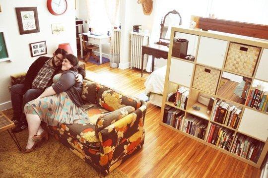 Căn hộ 34m² của cặp tình nhân nước Mỹ  ngọt như kẹo