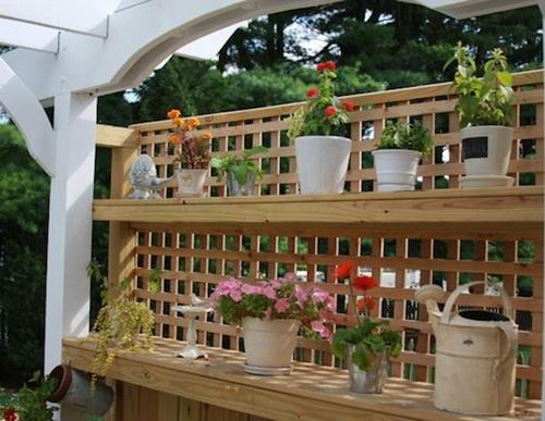 4 cách hay để sân vườn vừa mát vừa riêng tư 6