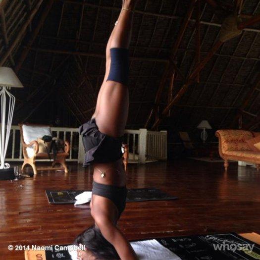 Những Tư Thế Yoga Tuyệt Vời Của C 225 C Sao Khiến Nhiều Người