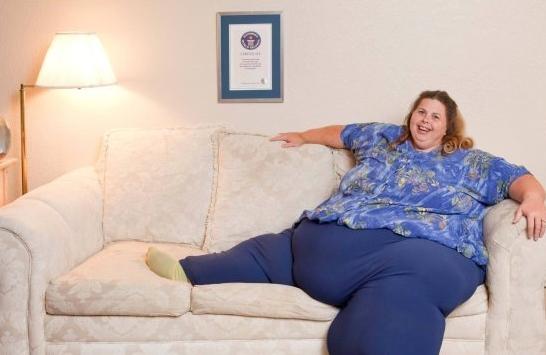 Những phụ nữ béo nhất thế giới 3