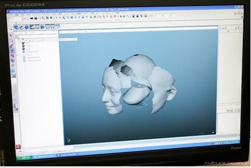Nhật Bản: Búp bê 3D có gương mặt giống hệt người thật  5
