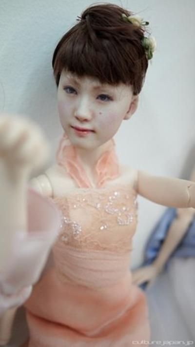 Nhật Bản: Búp bê 3D có gương mặt giống hệt người thật  7