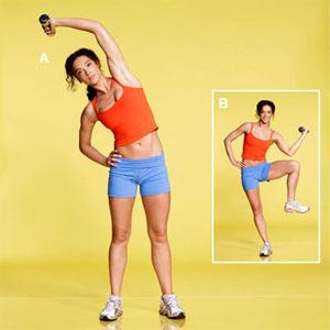 4 động tác thể dục đơn giản cho vòng eo thon kịp đón Tết 1