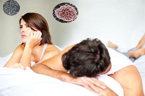 Kết quả hình ảnh cho lây bệnh phụ khoa từ chồng