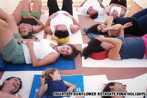 Yoga cười – cứu cánh cho bệnh nhân trầm cảm 1